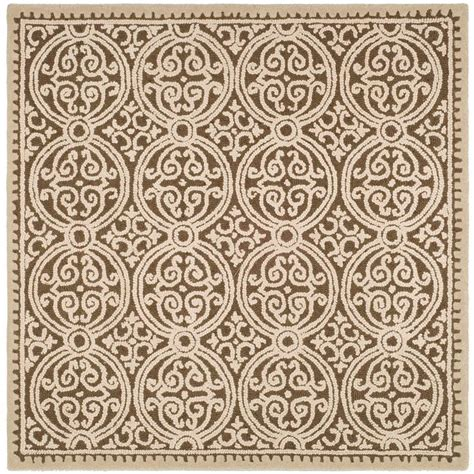square area rugs 10 x 10 safavieh cambridge multi 10 ft x 10 ft square area rug cam232a 10sq the home depot