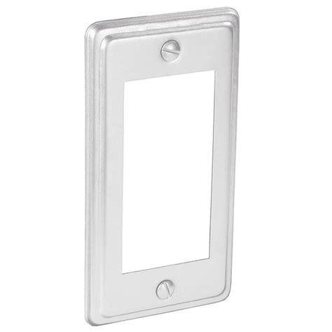 decorative utility box covers handy utility gfci decorative receptacle cover garvin
