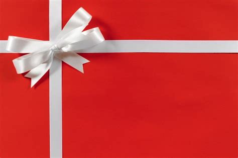 an amazing christmas gift with a bow photo free download