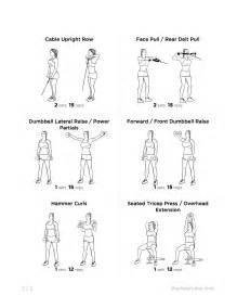 shoulder workout at home arm and shoulder exercises for
