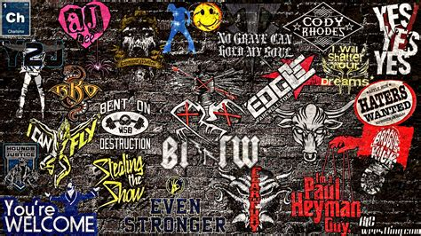 wallpaper stickers wallpaper of the week wwe sticker 2013 wallpaper
