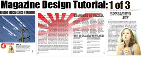 magazine layout indesign jobs the great exles of magazine cover design tutorials