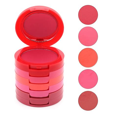 The Balm Single Blush Blush On Highlighter foundation base make up the balm makeup cosmetics how bout them apples 6 color cheek lip