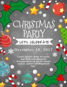layout design for christmas party christmas poster templates postermywall