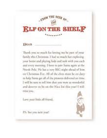 Elf on shelf letters from santa andrew fuller