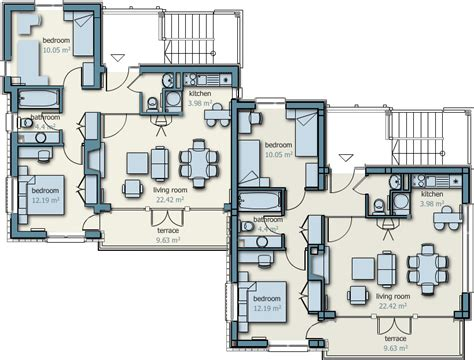 buy blueprints semi detached house plans escortsea