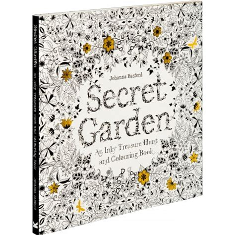 secret garden colouring book images photo laurence king publishing