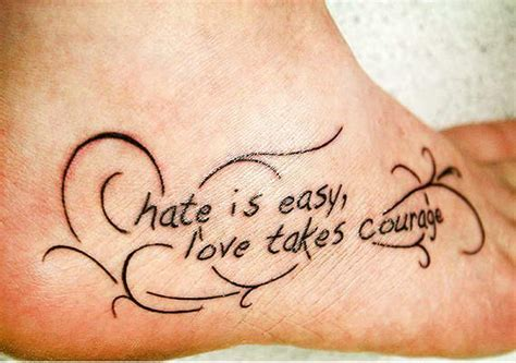 tattoo quotes for haters 50 inspirational saying lettering and quotes tattoos