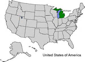 us map michigan image search results