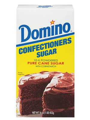 confectioners sugar domino sugar