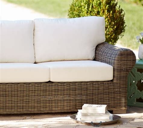 outdoor slipcovers patio furniture huntington outdoor furniture cushion slipcovers pottery barn