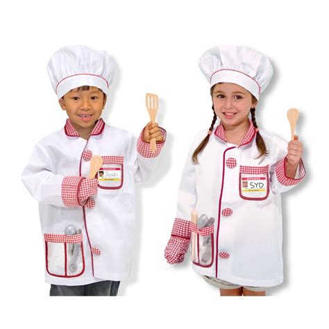 Chef Toys chef costume play set educational toys planet