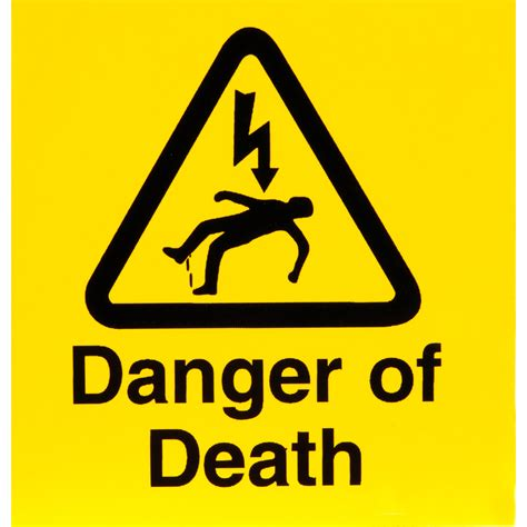 12 Warning Signs Your Is In Danger by Image Gallery Warning Signs