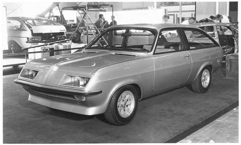 view of vauxhall firenza coupe vauxhall silver bullet concept