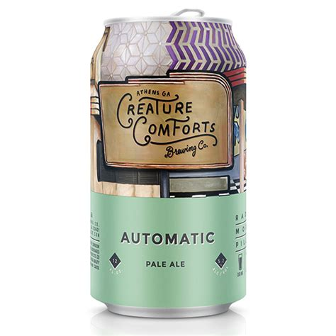 creature comforts beer creature comforts automatic pale ale to be canned beer