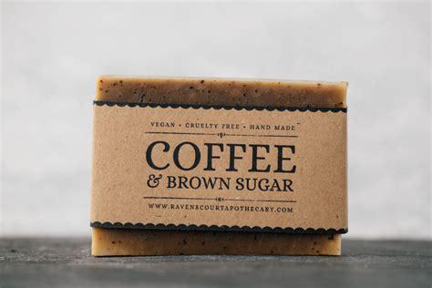 Coffee Soap coffee brown sugar scrub soap ravenscourt apothecary