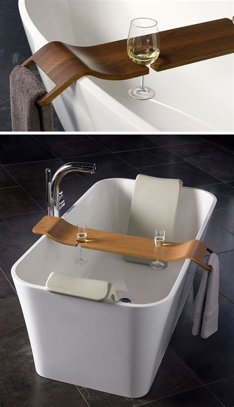 bathtub caddie 7 things you need to create the perfect spa at home contemporist