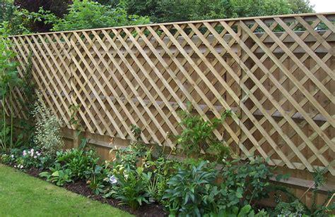 Garden Fence Trellis Top Trellis Fencing