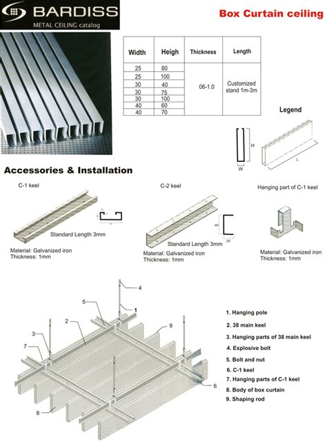 rondo concealed suspended ceiling system hbm