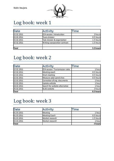 layout of a log book file log book robin pdf wikiversity