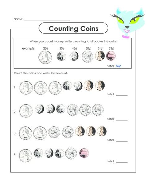 printable quarter worksheets counting coins counting coins counting money and free