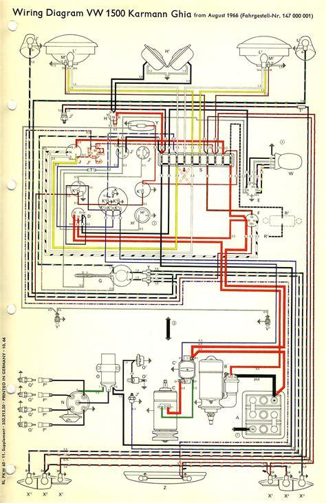 Thesamba Com View Topic 1971 Ghia Wiring Mess