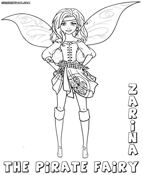 The Pirate Fairy Coloring Pages Coloring Pages To Pirate Coloring Pages Coloringpages1001
