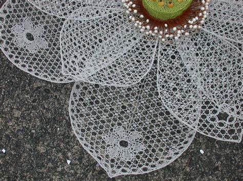 Lotus Lace Lenka Suchanek Wire Lace White Lotus Detail