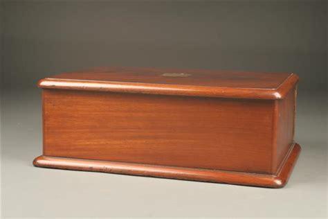 Box Hitam Outdoor Indoor Serbaguna 1285 collectors box with 8 drawers in mahogany circa 1860