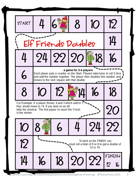 printable games algebra fun games 4 learning christmas math games
