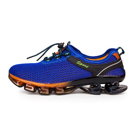 ebay sports shoes gomnear mens big size blade running shoes shock absorb