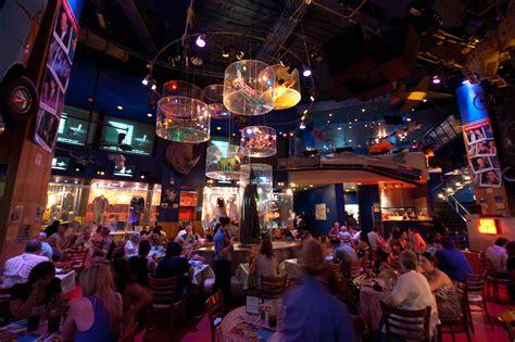 best live restaurants nyc planet restaurants in midtown west new york