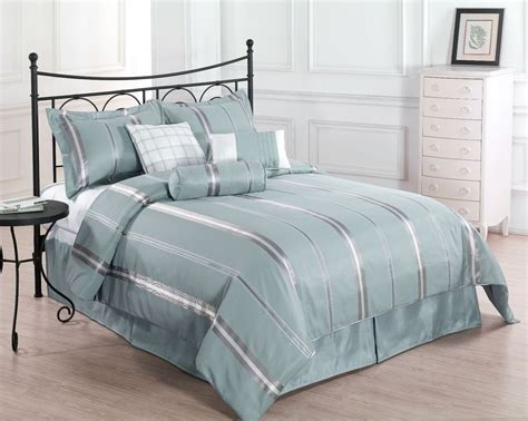 King Size Comforters On Sale by Sale Park Avenue Cal King Size Bed 7pc Comforter Set Blue Gold Bed Cover Ebay