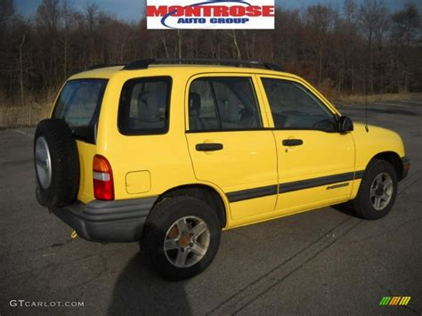 car owners manuals for sale 2003 chevrolet tracker instrument cluster 2003 yellow chevrolet tracker 4wd hard top 27920244 gtcarlot com car color galleries