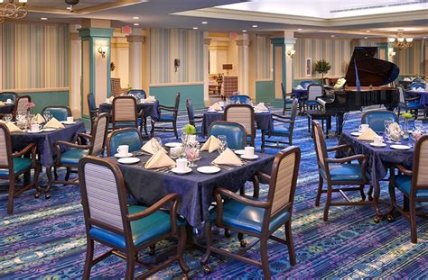 Assisted Living Dining Room by Assisted Living White Plains Retirement Community The