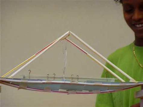 How To Make A Strong Paper Bridge - bridge building project