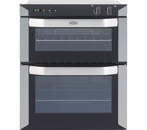 half oven kitchen appliances buy belling bi70mlpg lpg oven stainless steel free