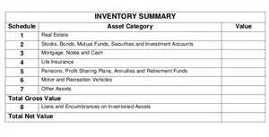 estate will template 14 estate inventory templates free sle exle
