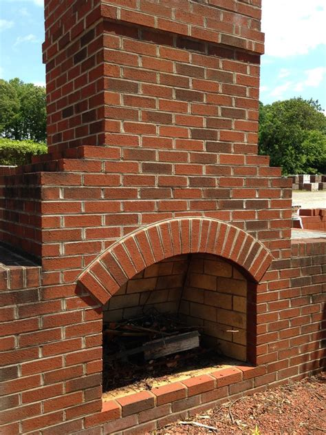 Are Brick Fireplaces Out Of Style a classic outdoor fireplace constructed out of