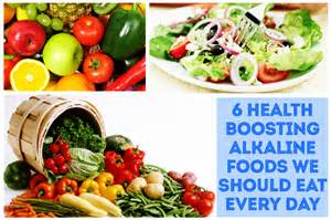 6 alkaline foods and their importance for better health