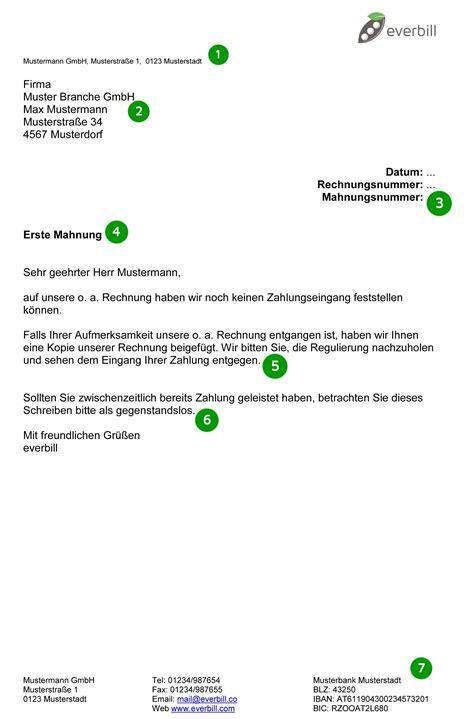 Zweite Mahnung Schreiben Muster Alle Infos Zu Mahnschreiben In 214 Sterreich