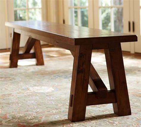 pottery barn rustic bench 25 best ideas about wooden benches on pinterest wooden