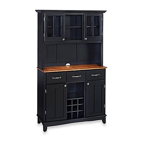 buy home styles cottage oak wood top large buffet server