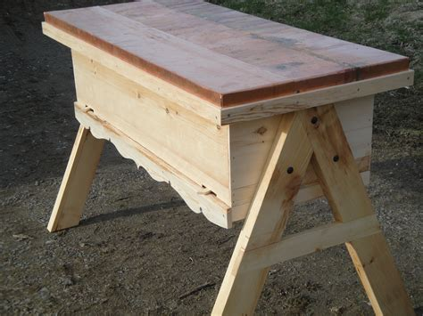 how to make a top bar beehive plans for langpohl top bar hive its the bees knees