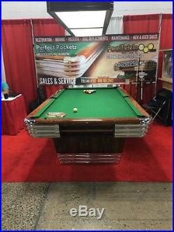 4 5 x 9 pool table 1 of a gregory brunswick centennial pool table