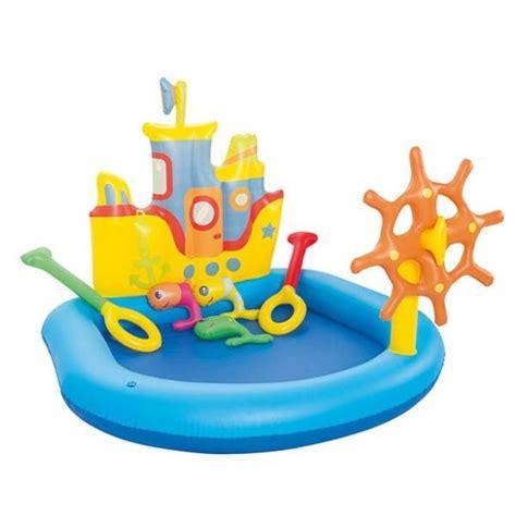 Murah Kolam Renang Anak Bestway Caboose Play Pool jual beli tug boat play pool kolam renang anak bestway 20170417 baru alat renang terbaru