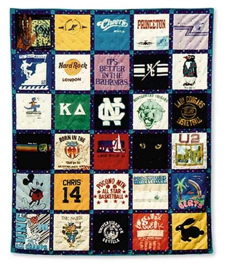 t shirt memories quilt pattern product details keepsake