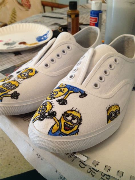 diy minion shoes minion canvas shoes by me diy minions
