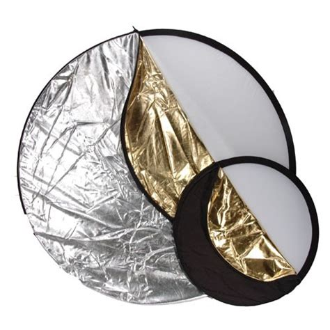 Tronic Reflector Umbrella Gold 80cm 5 In 1 Light Multi Collapsible Reflector 80cm 32 Quot