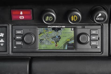 Porsche Navigation by Porsche Classic Releases Vintage Looking Navigation Radio